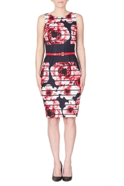 Joseph Ribkoff Modern Floral Dress - Front cropped