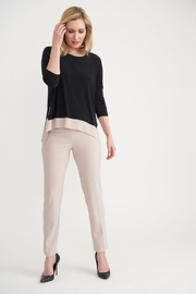 Joseph Ribkoff Molly Two-Tone Top - Side cropped