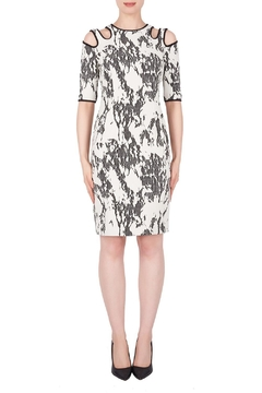 Joseph Ribkoff Ivory/black Dress - Alternate List Image
