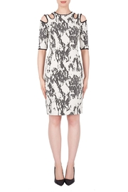 Joseph Ribkoff Ivory/black Dress - Product Mini Image