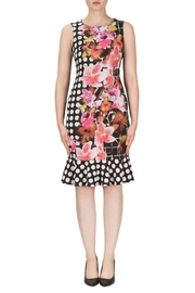 Joseph Ribkoff Multi Pattern Dress - Product Mini Image