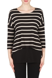 Joseph Ribkoff Nancy Striped Top - Product Mini Image
