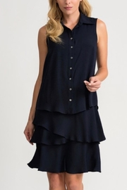 Joseph Ribkoff Navy Blue Layer Dress - Product Mini Image
