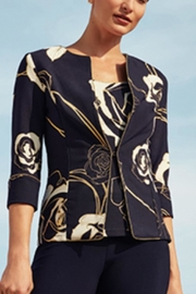 Joseph Ribkoff Navy Jacket Set - Product Mini Image
