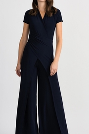Joseph Ribkoff Navy Layover Jumpsuit - Product Mini Image