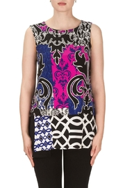 Joseph Ribkoff Nicole Patterned Top - Product Mini Image