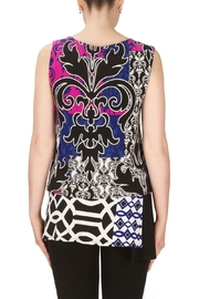 Joseph Ribkoff Nicole Patterned Top - Back cropped