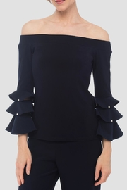 Joseph Ribkoff Off-Shoulder  Top - Product Mini Image