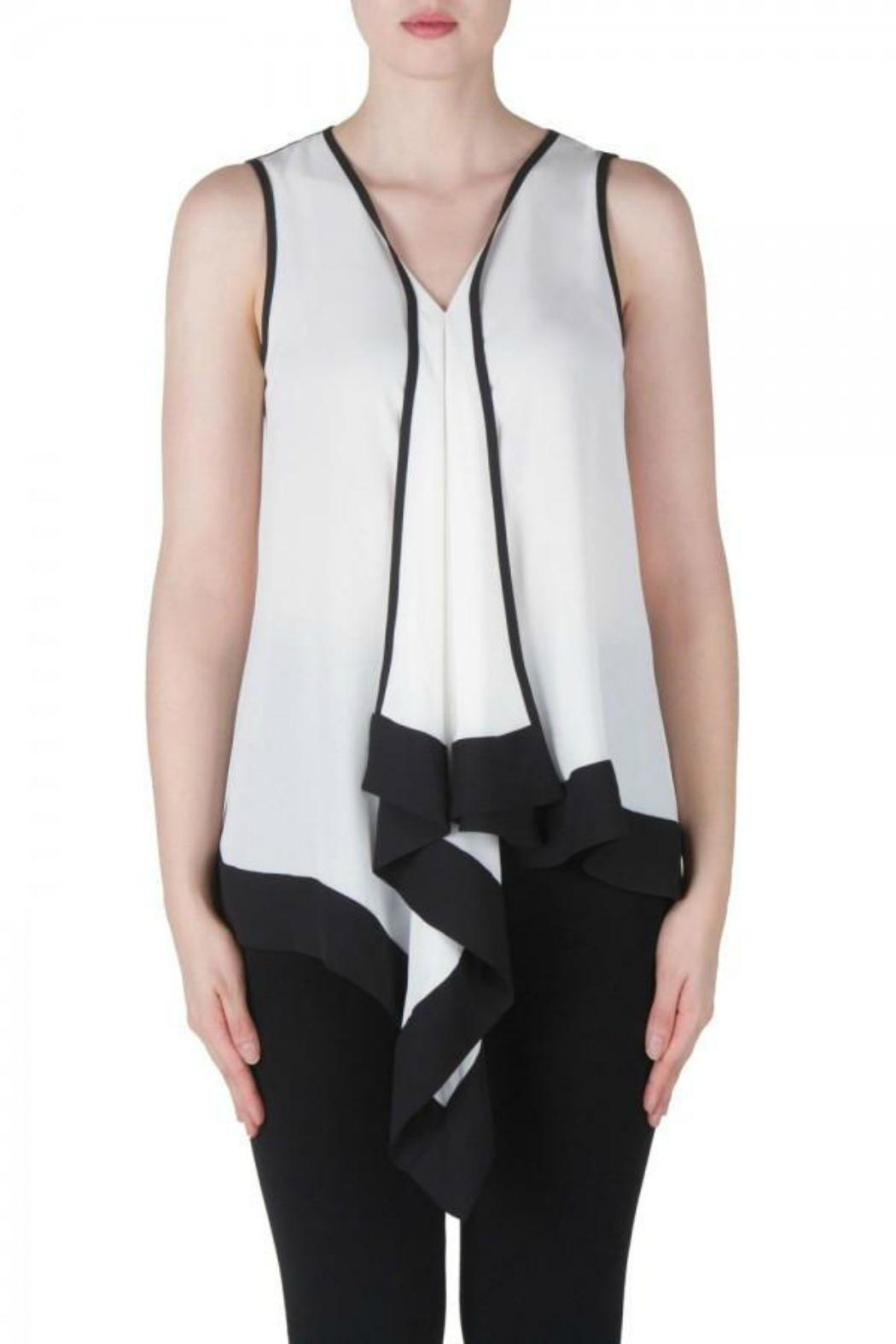 Joseph Ribkoff Off White Tunic - Front Cropped Image
