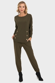 Joseph Ribkoff Olive Green Tunic - Product Mini Image
