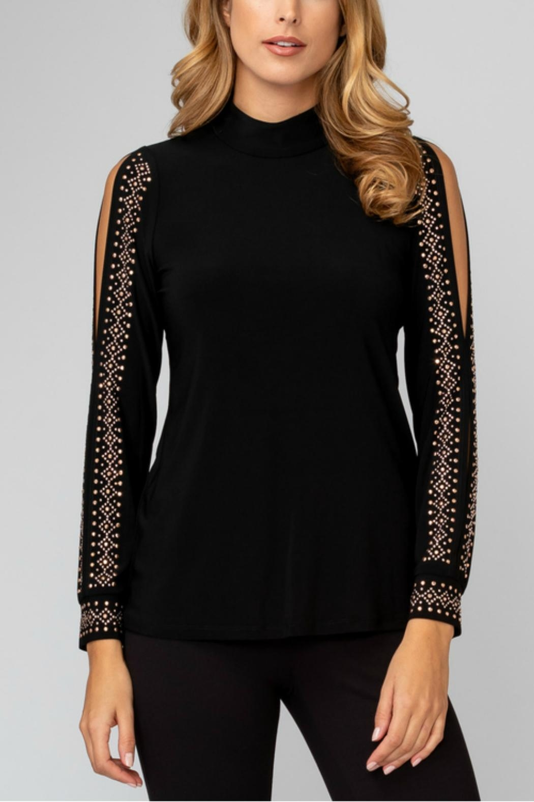 Joseph Ribkoff Open Sleeve Top - Front Cropped Image
