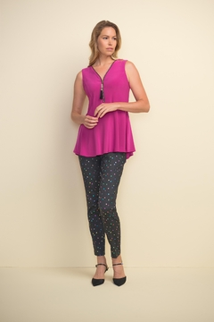 Joseph Ribkoff Orchid Sleeveless Top - Alternate List Image