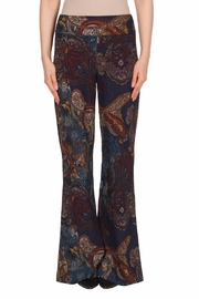 Joseph Ribkoff Paisley Taper Pant - Front cropped