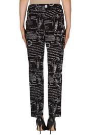 Joseph Ribkoff Paris Printed Pant - Side cropped