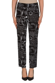 Joseph Ribkoff Paris Printed Pant - Product Mini Image