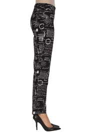 Joseph Ribkoff Paris Printed Pant - Front full body