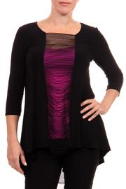 Joseph Ribkoff Peek-A-Boo String Tunic - Product Mini Image