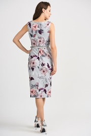 Joseph Ribkoff Peggy Floral-Belted Dress - Side cropped