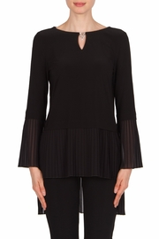 Joseph Ribkoff Pleated Details Top - Product Mini Image