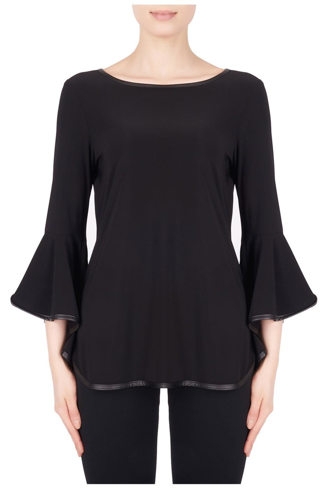 Joseph Ribkoff Poet Sleeves Top - Front Full Image