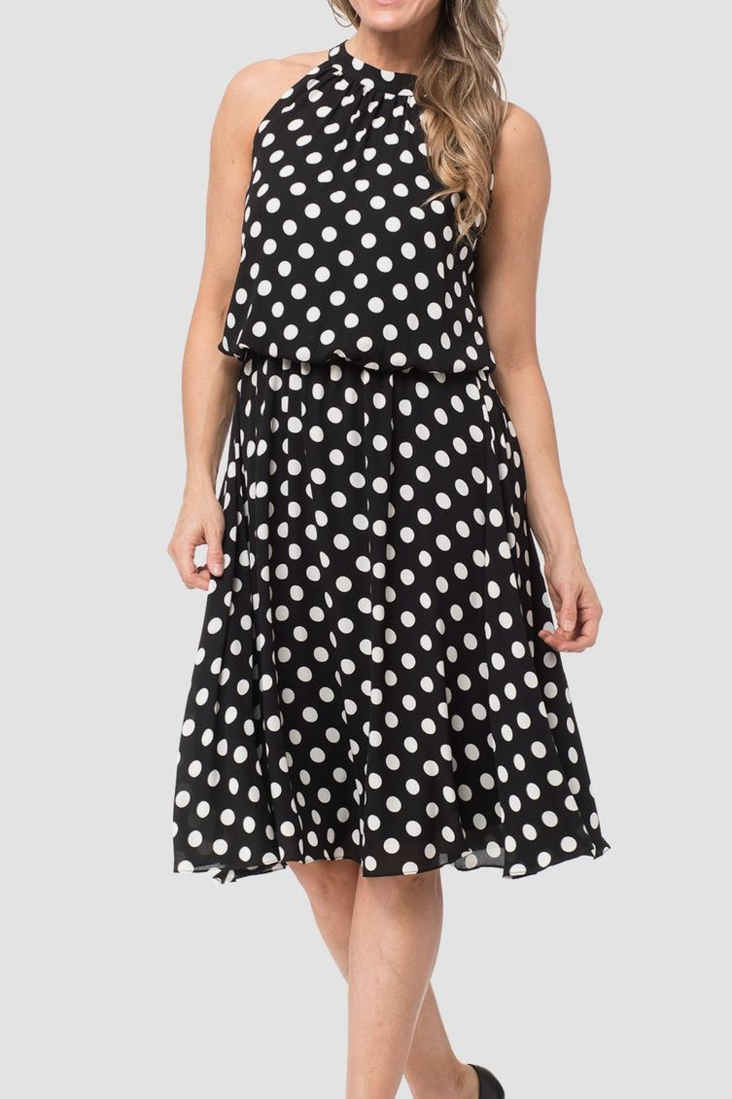 18e4bd1a4a Joseph Ribkoff Polka Dot Dress from New Jersey by Sabine s Boutique ...