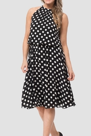 Joseph Ribkoff Polka Dot Dress - Product Mini Image