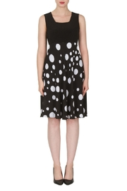 Joseph Ribkoff Polka Dot Print Dress - Product Mini Image