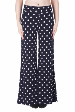 Shoptiques Product: Navy Palazzo Pants