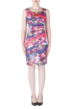Shoptiques Product: Printed Ruched Dress