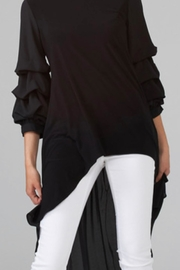 Joseph Ribkoff Puffed Sleeve Tunic - Product Mini Image