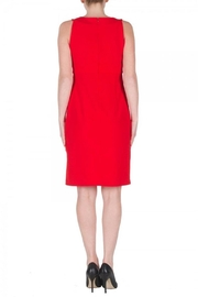 Joseph Ribkoff Red Cocktail Dress - Side cropped