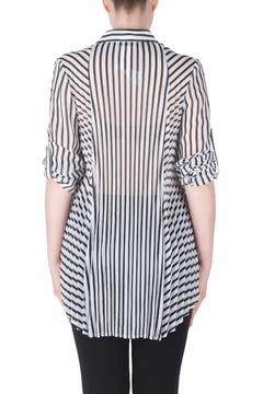 Shoptiques Product: Roll Sleeve Tunic Blouse