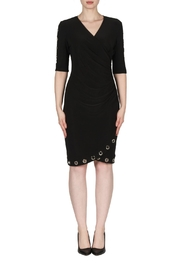 Joseph Ribkoff Ruched Grommet Dress - Product Mini Image
