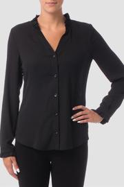 Joseph Ribkoff Ruffle Collar Blouse - Product Mini Image