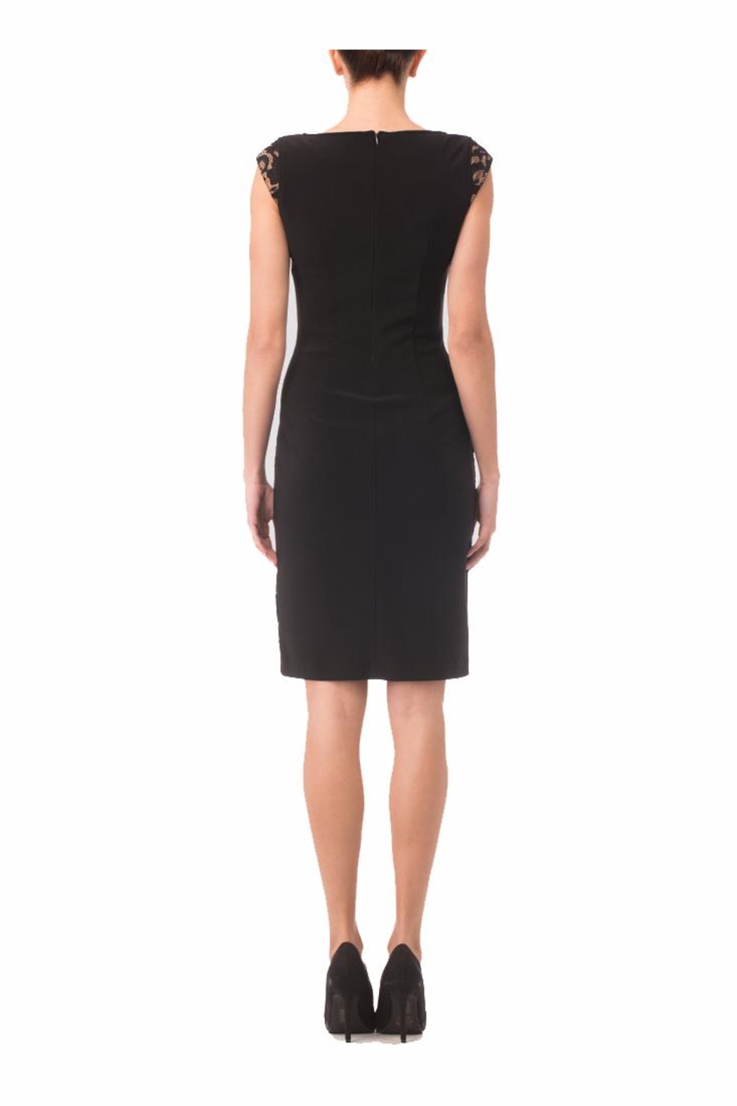 Joseph Ribkoff Black sheath Dress - Front Full Image