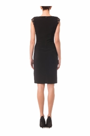 Joseph Ribkoff Black sheath Dress - Front full body