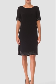 Joseph Ribkoff Sequin Trim Dress - Product Mini Image