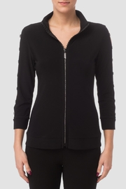 Joseph Ribkoff Sequin Zip Jacket - Product Mini Image