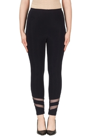 Joseph Ribkoff Sheer Striping Legging - Product Mini Image