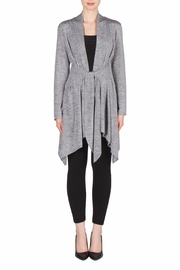 Joseph Ribkoff Shimmery Open Cardigan - Front cropped