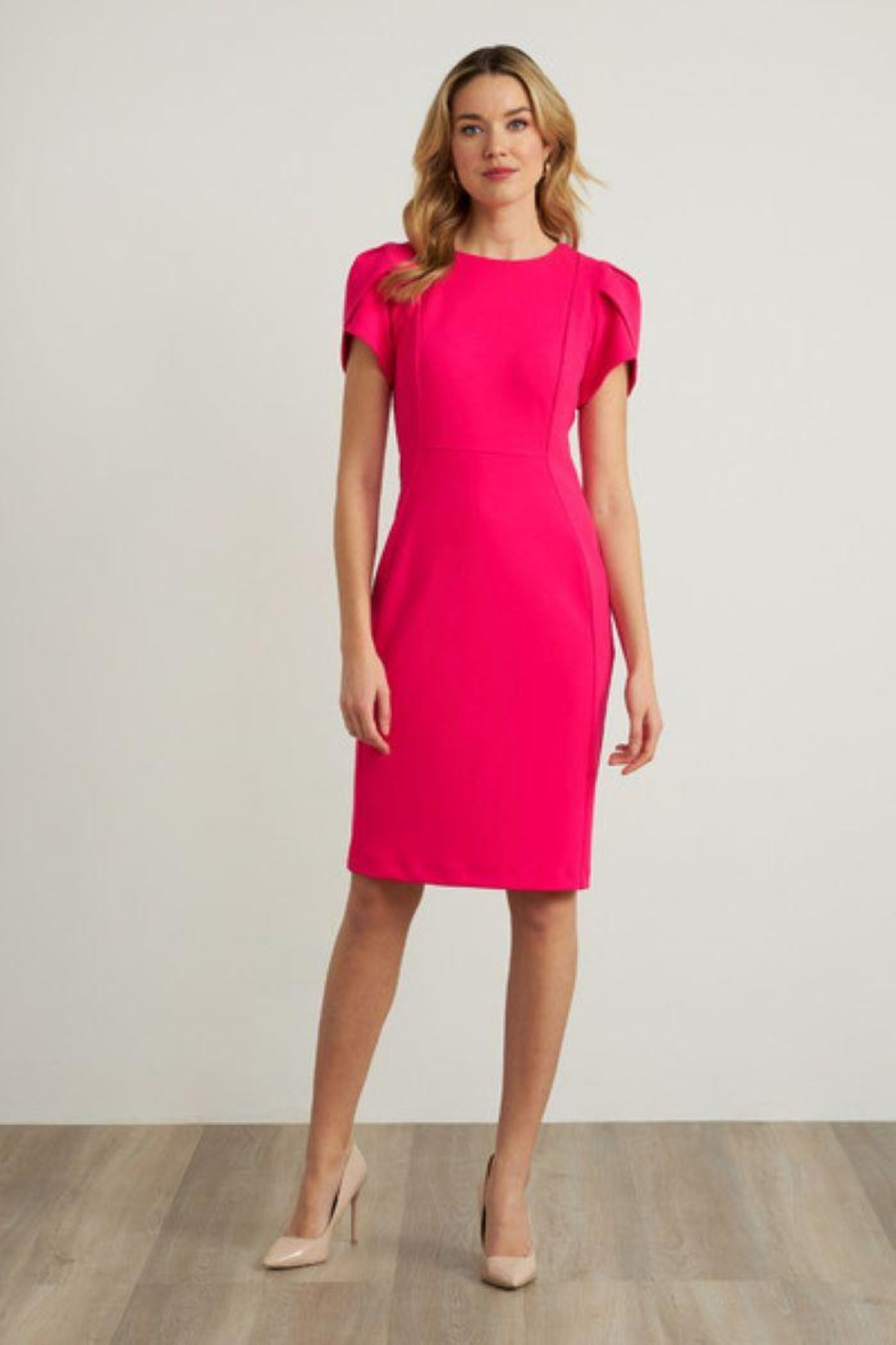 Joseph Ribkoff Short Sleeve Dress - Main Image
