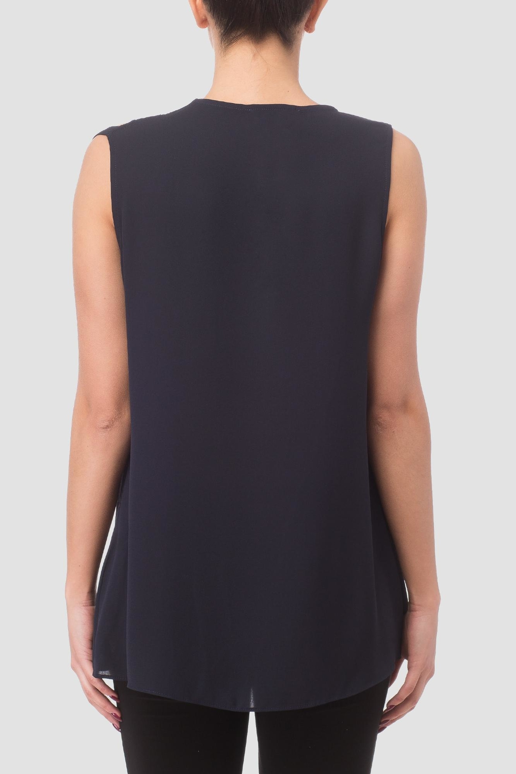 Joseph Ribkoff Sleeve Less Top - Side Cropped Image