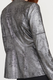 Joseph Ribkoff Soft Shimmer Suede Jacket - Side cropped