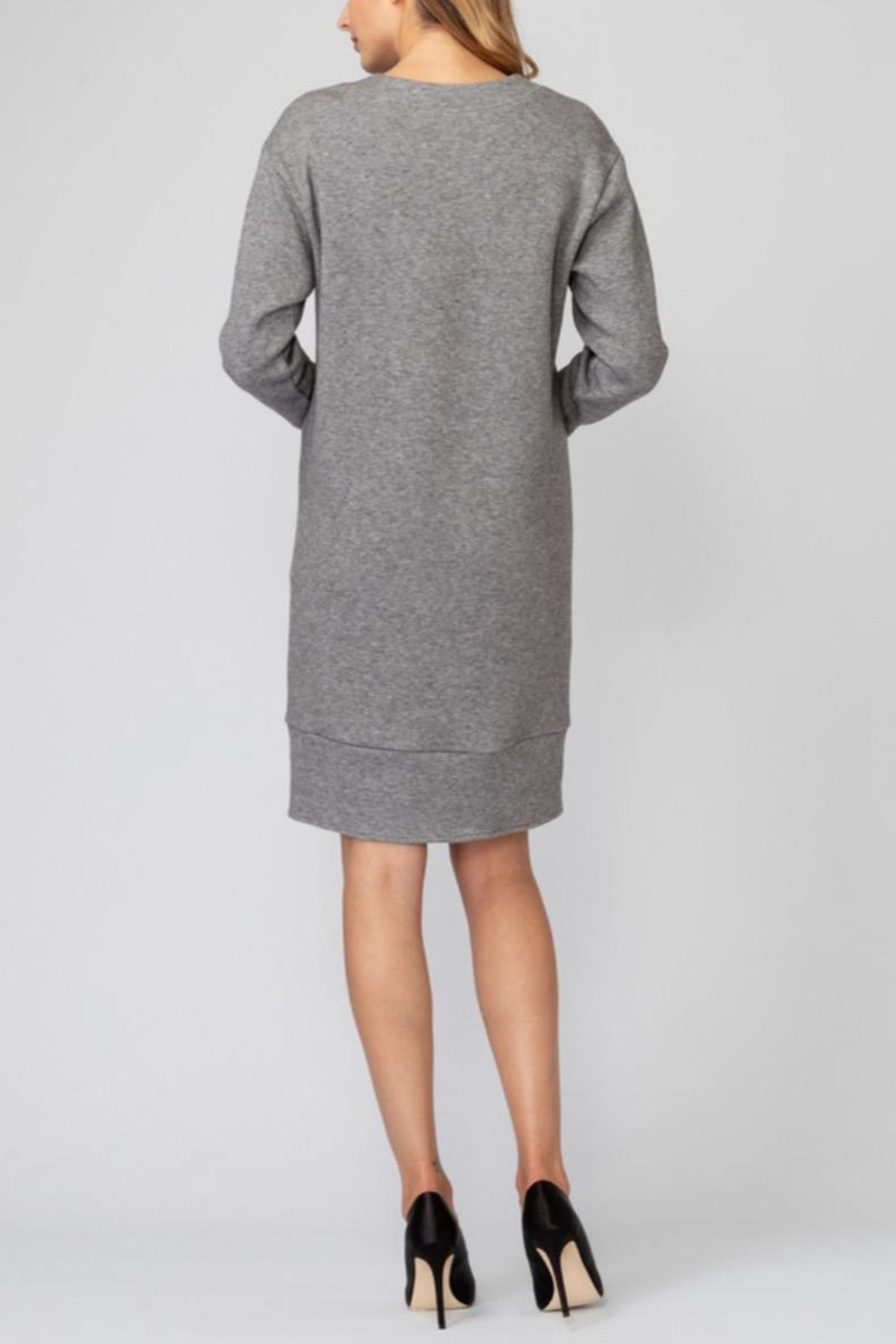 Joseph Ribkoff Sporty Pullover Dress - Side Cropped Image