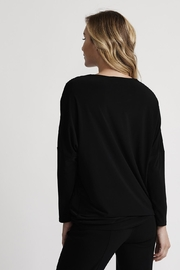 Joseph Ribkoff Starry Zip-Front Top - Side cropped