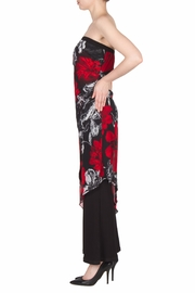 Joseph Ribkoff Strapless Floral Jumpsuit - Back cropped