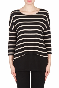 Shoptiques Product: Stripe Layer Tunic Top