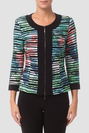 Joseph Ribkoff Striped Jacket - Product Mini Image