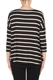 Joseph Ribkoff Striped Tunic Top - Side cropped