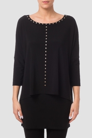 Joseph Ribkoff Studded Tunic Top - Product Mini Image